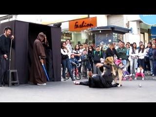 Дарт вейдер атакован собакой